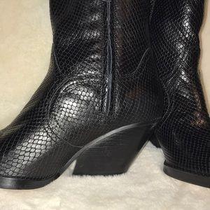 Zara Shoes - Zara Tall Cowboy Boots